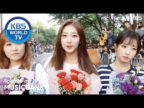 [Spotted at Music bank] 뮤직뱅크 출근길 - BTS, Lovelyz, KHAN, NFlying, UNI.T [2018.05.25]