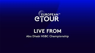 European eTour - Abu Dhabi HSBC Championship 2020