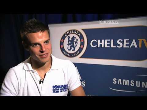 Chelsea FC - Cesar Azpilicueta First Interview