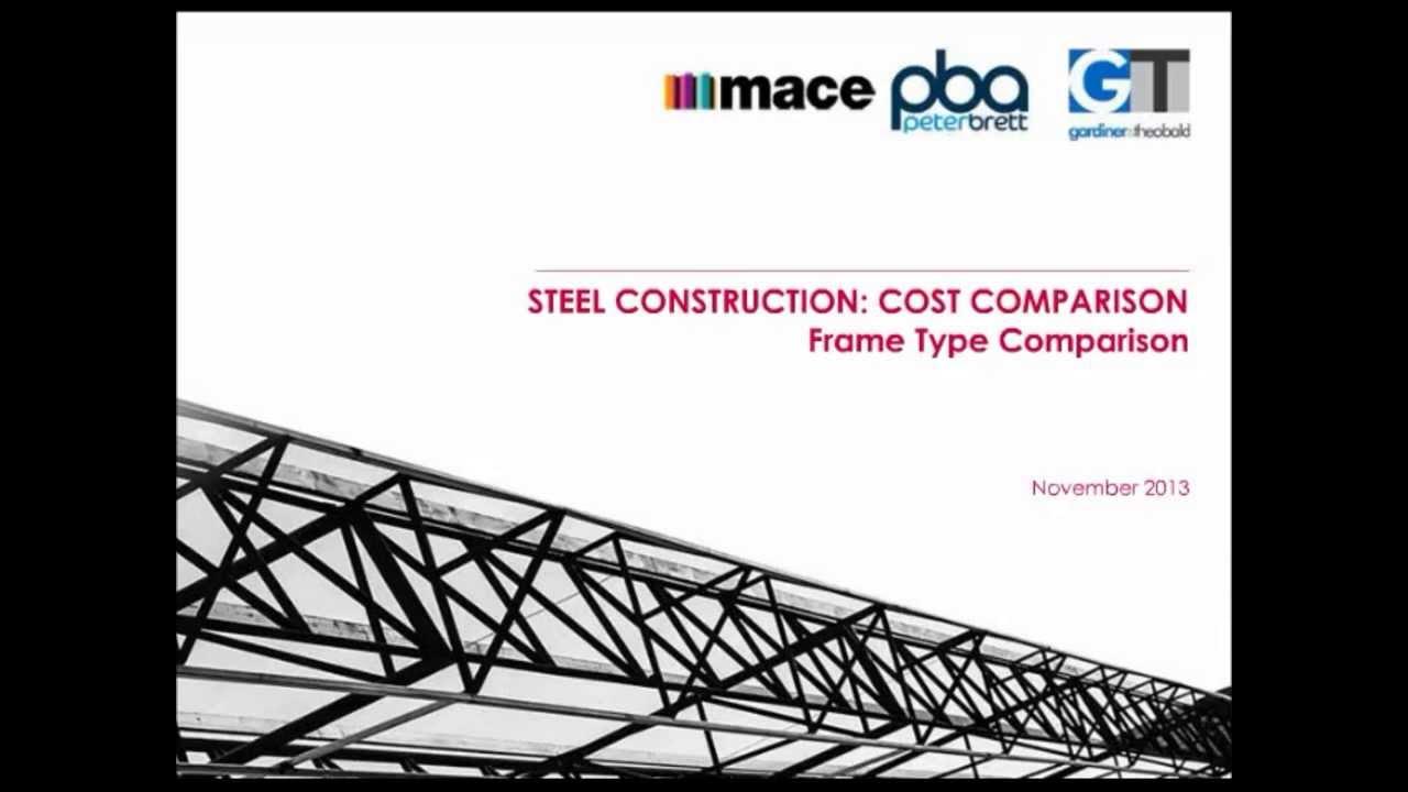 Steel Construction: Cost Comparison - YouTube