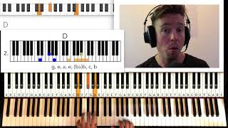 How to Play ROSES by OutKast (Intro) Original Song, lick, Piano Tutorial by Piano Couture