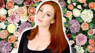 DIY Flower Wall Backdrop - How to Make a Flower Wall Photography Background