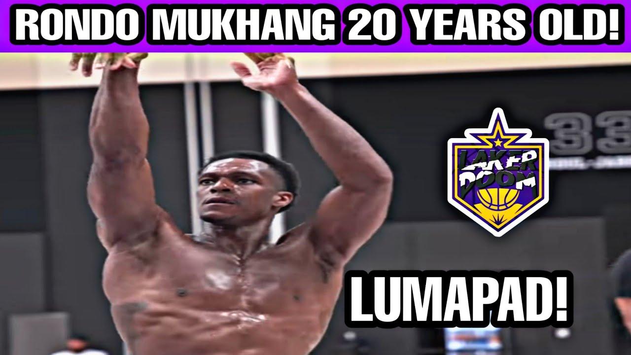 Rajon Rondo lumapad ang katawan parang 21 years old! Plus workout!