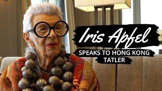 Iris Apfel Speaks to Hong Kong Tatler