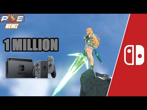 Get More Switch Titles in 2017 says Reggie, 1 Million in Japan & New Xenoblade 2 Info! | PE NewZ Images