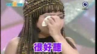 5歲小小崔苔菁**聲音輕飄飄的~好舒服捏!聽政雄唱歌居然哭了..so cute