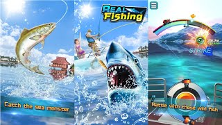 Real Fishing Android Gameplay