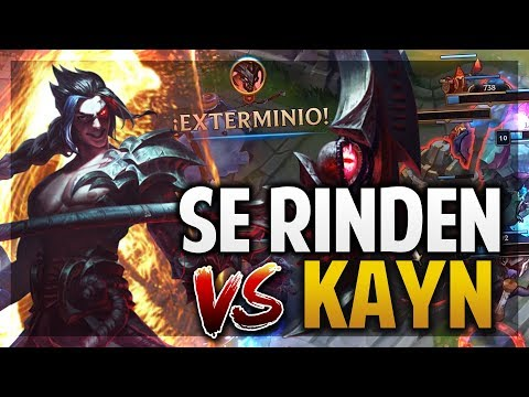 ¡ASÍ SE JUEGA KAYN! | MI RUTA DE JUNGLA SECRETA! | League of Legends thumbnail
