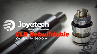 Ego ONE CLR Head (Rebuildable) by Joyetech + Rebuild