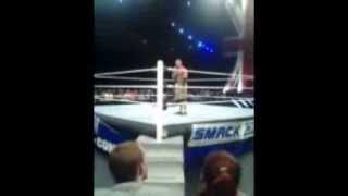 John Cena attacks WWE announcer Tony Chimel