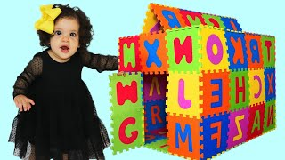 Sami and amira Pretend Play with PlayHouse  - ADEL ET SAMI