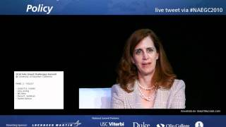 Policy Panel- NAE Grand Challenges Summit Day 1 (video 3)