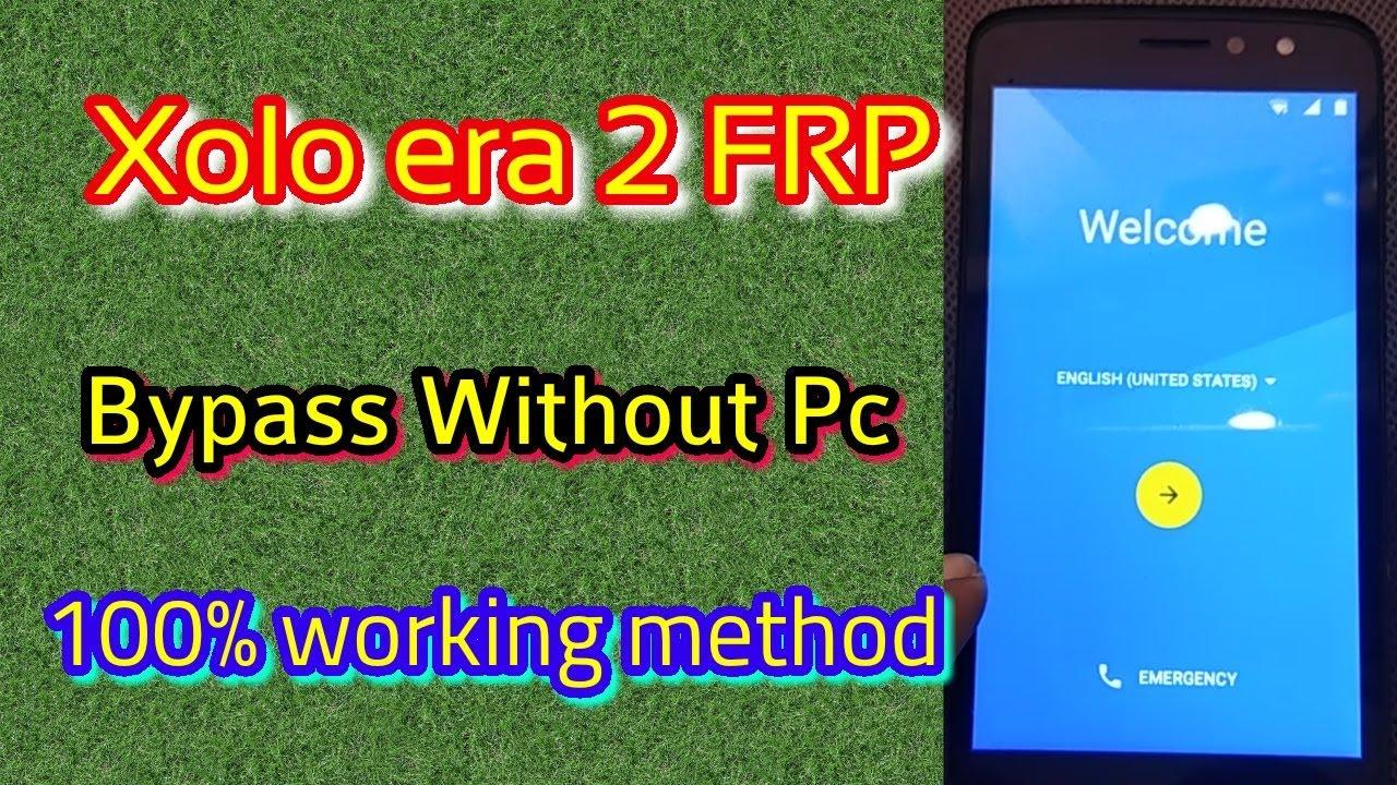 Xolo era 2 FRP unlock done without Pc || Verified Tricks