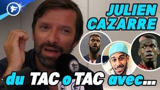 """VIDEO: Julien Cazarre : """"le joueur le plus surcoté ? Paul Pogba"""""""