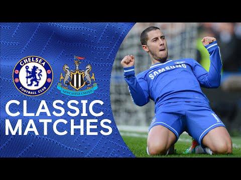 Chelsea 3-0 Newcastle | Eden Hazard Scores First Chelsea Hat-Trick | Classic Hazard