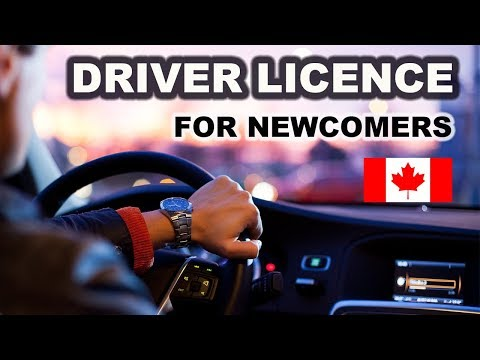 How to get your driver licence in Canada?