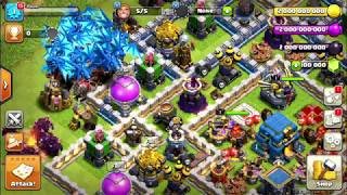 Playing clash of clans (PC)
