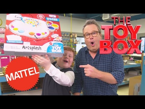Unboxing the Toy Box Winner, Artsplash! | The Toy Box | Mattel