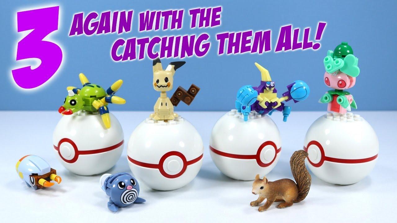 Pokemon Elekid Poke Ball Building Set NEW Toys In Stock