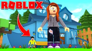 HELP I'VE SHRUNTED IN ROBLOX