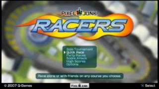 Pixeljunk Racers Gameplay