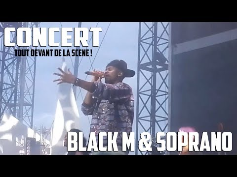Concert de Black M & Soprano au Stade Tropenas Montélimar