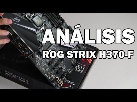 ¿Vale la pena la ROG STRIX H370F? ¡Análisis completo!