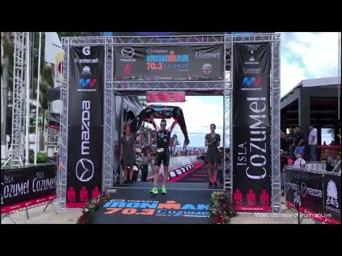 Tyler Butterfield Wins Ironman 70.3 Cozumel, September 29 2019