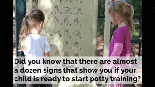 The Potty Training Readiness Signs Video