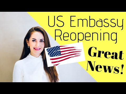🔥US EMBASSIES REOPENING (resumption Of Routine Visa Services)