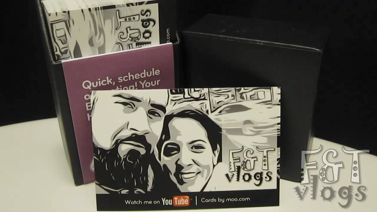 Freddy and tanias youtube business cards by moo youtube freddy and tanias youtube business cards by moo reheart Gallery