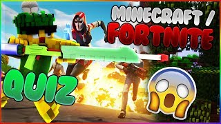 How well do you know Minecraft/Fortnite? | Fortnite and Minecraft Quiz