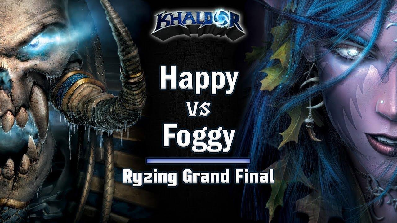 ► WarCraft 3 - Happy (UD) vs. Foggy (NE) - Ryzing Cup #6