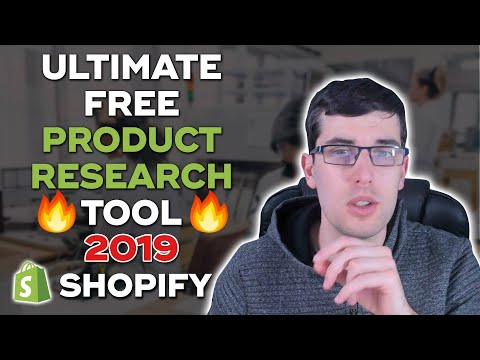 Ultimate Product Research Tool for 2019 | Find Hot Dropshipping Products thumbnail
