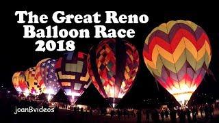SNOW GLOW | DAWN PATROL | THE GREAT RENO BALLOON RACE 2018