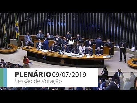 PLENÁRIO - Discussão do parecer da reforma da Previdência - 09/07/2019 - 20:48