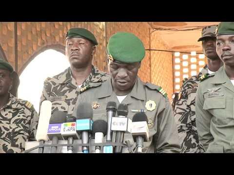 Mali : déclaration du Capitaine Sanogo le 3 avril 2012