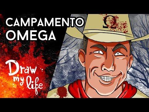 Bienvenidos al TERRORÍFICO Campamento OMEGA - Draw My Life en Español