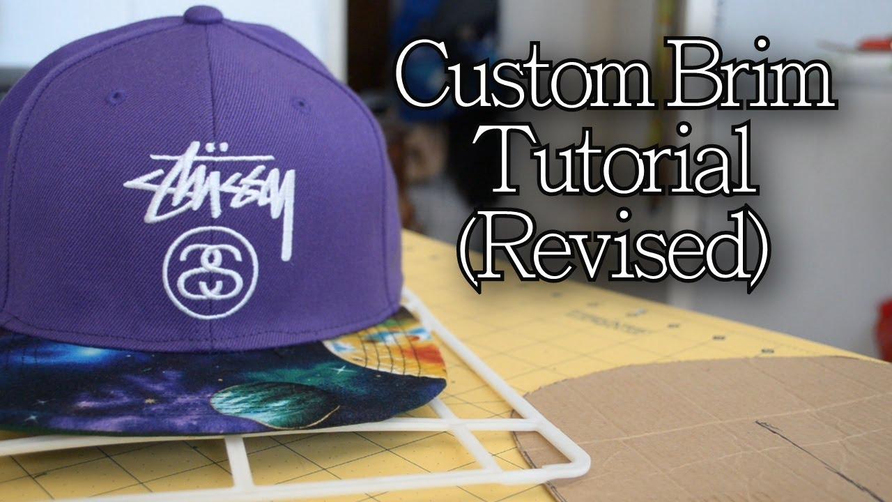 b979b8c6 DIY: How to Customize Your Brim | Customize Yo Hat #6 - YouTube