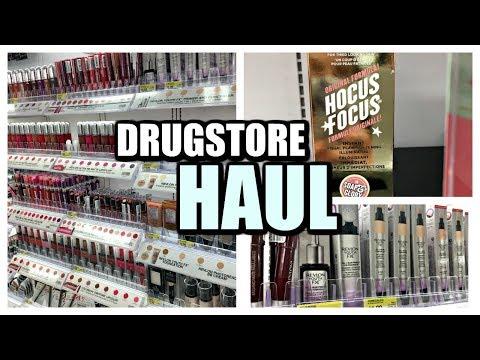 Fall Drugstore Haul   2017