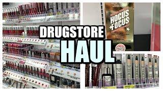 Fall Drugstore Haul | 2017