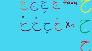 *** Изучение арабского языка. Алфавит  урок 2