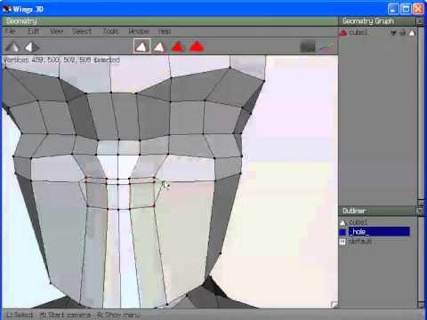 Podstawy Wings3D by Klicek