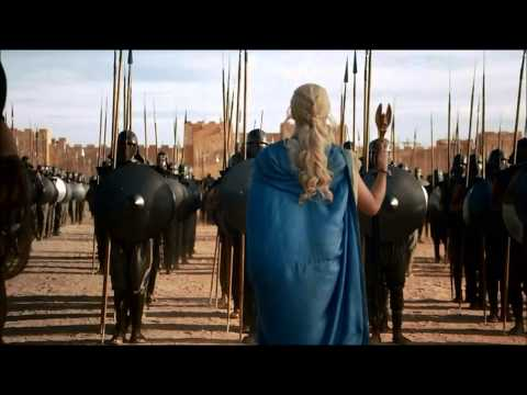 Epic Dragon Scene Game of Thrones Season 3 Daenerys Targaryen Rise to Power (Part 1) (HD) from YouTube · Duration:  3 minutes 17 seconds