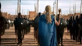 Epic Dragon Scene Game Of Thrones Season 3 Daenerys Targaryen Rise To Power Part 1 HD
