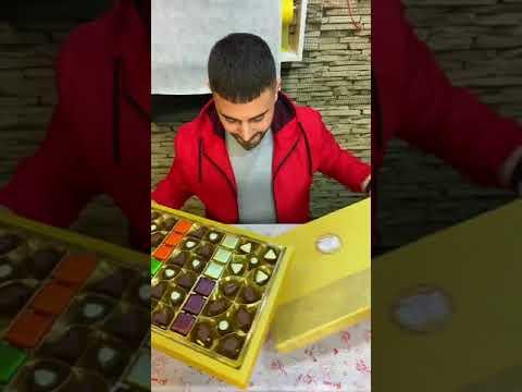 Çikolata Sepeti Nasıl Yapılır? Evde Kendi Çikolata Sepetini Yapmak.