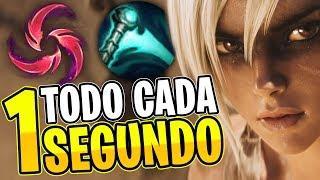 ¡TODOS LOS ENFRIAMIENTOS CADA 1 SEGUNDO CON ESTA RUNA! • RIVEN VS JAX