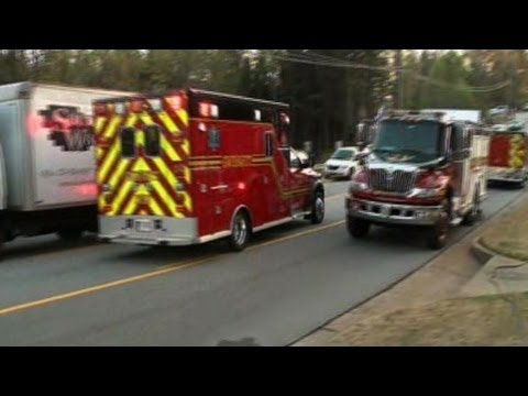 Audio released of firefighters held hostage