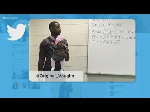 None - Professor Holds Baby For Student!