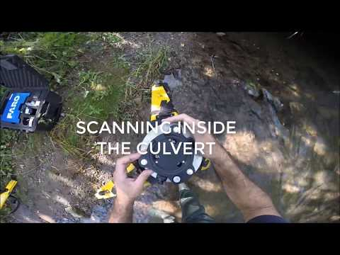 Culvert 3D Laser Scanning/LiDAR